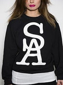 Image of SA Team Sweatshirt - Black - Womens