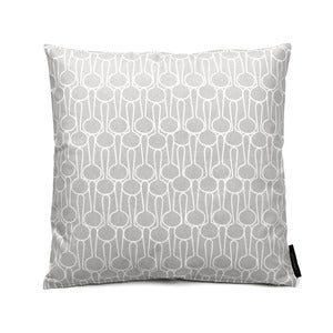 Image of 45x45cm cushion, Big drop grey