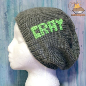 Image of CRAY Hand Knit Tuque by Twinklepies