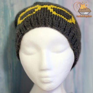 Image of Glasses Hand Knit Tuque by Twinklepies