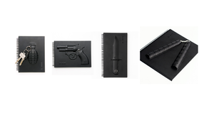 Image of Armed Notebook