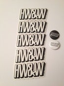 Image of HW&W Sticker & Pin Pack