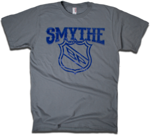 Image of Smythe Division - Classic NHL Division Series tee by Backpage Press