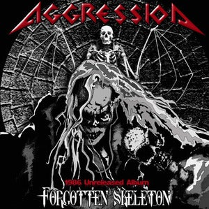 Image of AGGRESSION - Forgotten Skeleton CD &  The Full treatment CD + bonus CD
