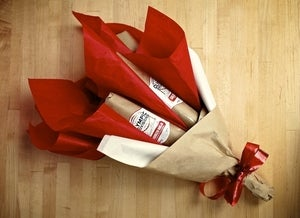 Salami Bouquet ($50-$120) -INCLUDES SHIPPING & 3 or 6 SALAMI