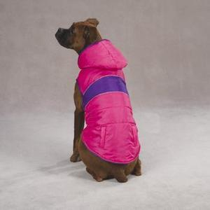 Image of Pink & Purple Brite Stripe Parka