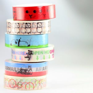 Image of Little Animals Washi Tape