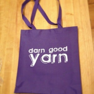 Image of Darn Good Yarn Tote Bag