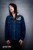 Image of S4L 'PANDAXCORE' ONE OF A KIND JEAN JACKET (Unisex)
