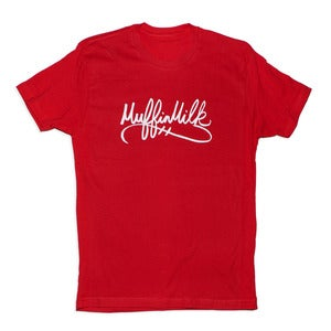 Image of The Signature Tee (White/Red)
