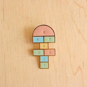 Image of Hopscotch pin