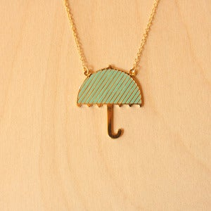 Image of Origami necklaces: Umbrella