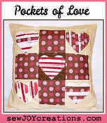 Image of Pockets of Love Pillow Cover