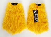 Image of Glitter fluffies yellow