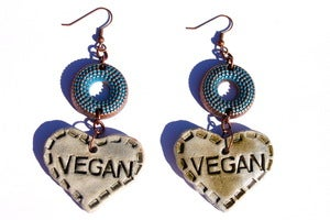Image of Vegan Vegan Earrings 