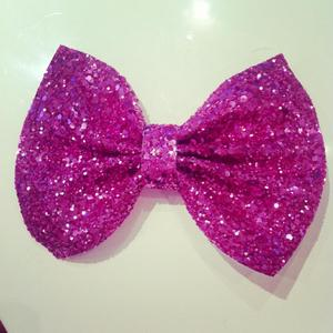 Image of Pink Glitter Bow