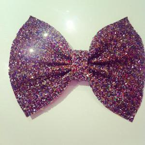 Image of Multi Sparkle Glitter Bow