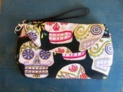 Image of Sugar Skull Wristlet Clutch