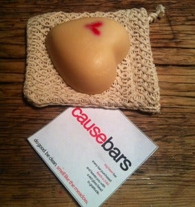 Image of CauseBars (heart) Single w/ mesh bag