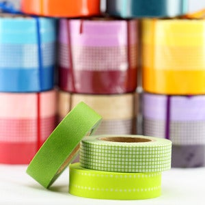 Image of Polka Dot + Graph Original Series Washi Tape