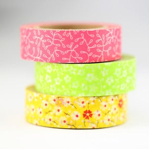 Image of Flower + Vine Washi Tape