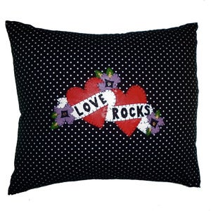 Image of Polkadot Love Rocks Cushion