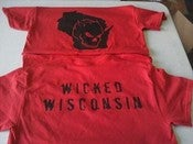 Image of Wicked Wisconsin Shirt (Red O.G.)