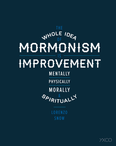 Image of Mormonism is Improvement - Printable PDF