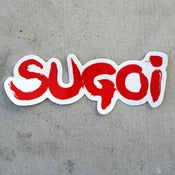 Image of SUGOI Red Sticker
