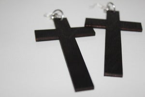 Image of LARGE CROSSES - Black