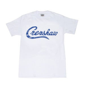 Image of Crenshaw T-Shirt (White/Royal)