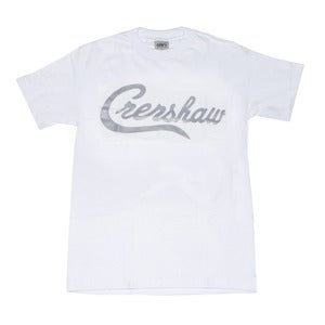 Image of Crenshaw T-Shirt (White/Grey)