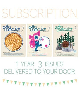 Image of Extra Curricular 1 year subscription - 3 issues