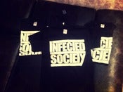 "Image of INFECTED SOCIETY ""logo"" t-shirt"