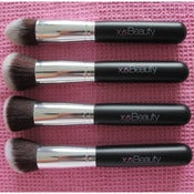 Image of 4pc Synthetic Face Brush Set