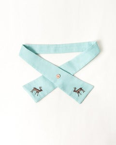 Image of Brownie Tie- Aqua Green