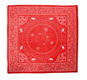 Image of pizza bandana: red