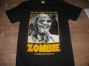 Image of Lucio Fulci's ZOMBIE T-shirt