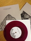 "Image of THOUGHT FORMS 'only hollow' ltd PURPLE vinyl 7"" with 'BOWING' on b-side"