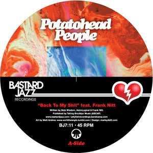 Image of Potatohead People feat. Frank Nitt - Back To My Shit / Love Hz 7""