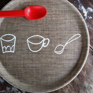 Image of Kids Linen Tray: Cutlery