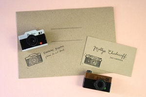 Image of Camera Rubber Stamp