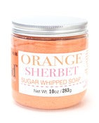 Image of Orange Sherbet Sugar Whipped Soap