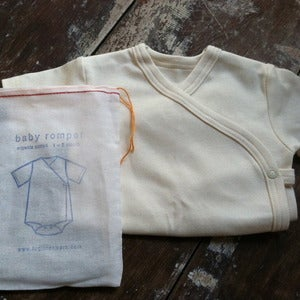 Image of Organic Cotton Baby Romper