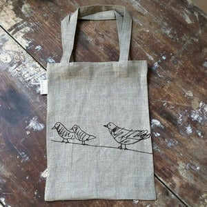 Image of Animal Print Bag: Dove