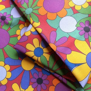 Image of Fabric - Summer Floral