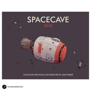 Image of SPACECAVE ONE Sketch Collection