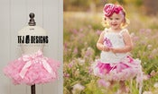 Image of Soft Pink Pettiskirt - Newborn to 12 Months - Full of Ruffles