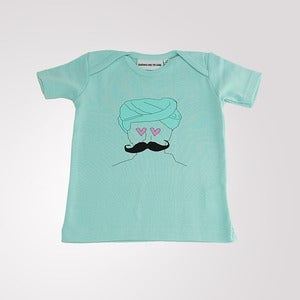Image of Urban T shirt Soft Mint Green