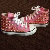 Image of Toddler Spiked Converse